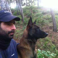 Adiestrador canino homologado por ANACP